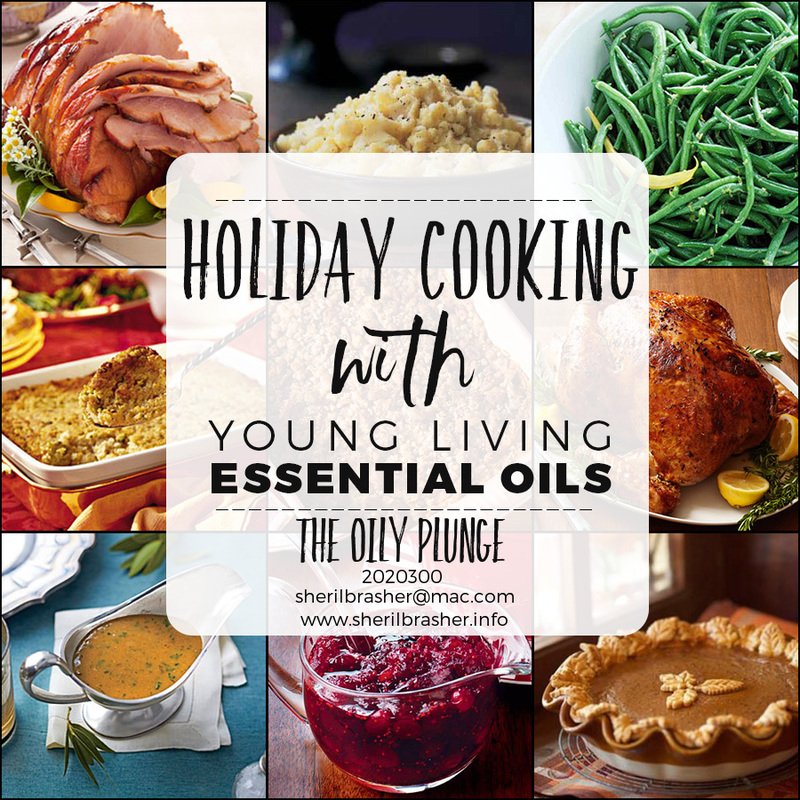Did you know that you can cook & flavor your foods with Young Living Essential Oils? Well you can! Why wait, spice up your holiday meals with these awesome Tips, Tricks & Treasures from The Oily Plunge. Over the next several days we will explore how to jazz up those tried and true recipes using essential oils. Join us today! YL Independent Distributor #2020300 www.sherilbrasher.info/The-Oily-Plunge