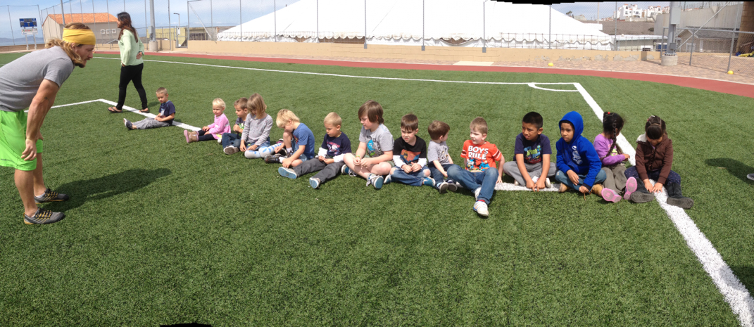 PE Class with our Little Builder's Preschoolers at YWAM San Diego/Baja