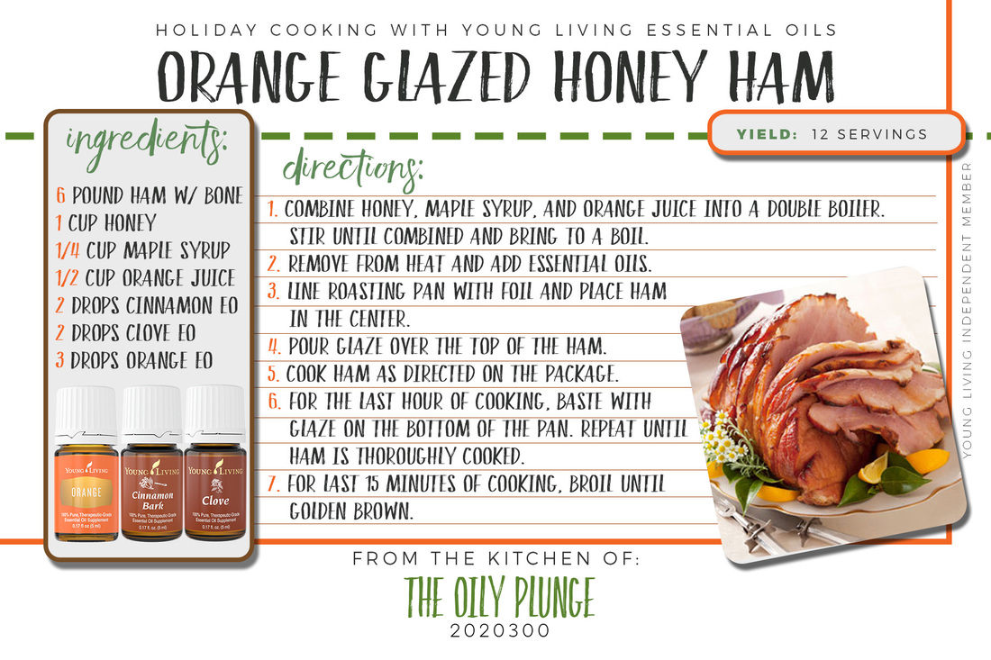 Did you know that you can cook & flavor your foods with Young Living Essential Oils? Well you can! Why wait, spice up your holiday meals with these awesome Tips, Tricks & Treasures from The Oily Plunge. Over the next several days we will explore how to jazz up those tried and true recipes using essential oils. Join us today & see how to upgrade your holiday ham! YL Independent Distributor #2020300 www.sherilbrasher.info/The-Oily-Plunge