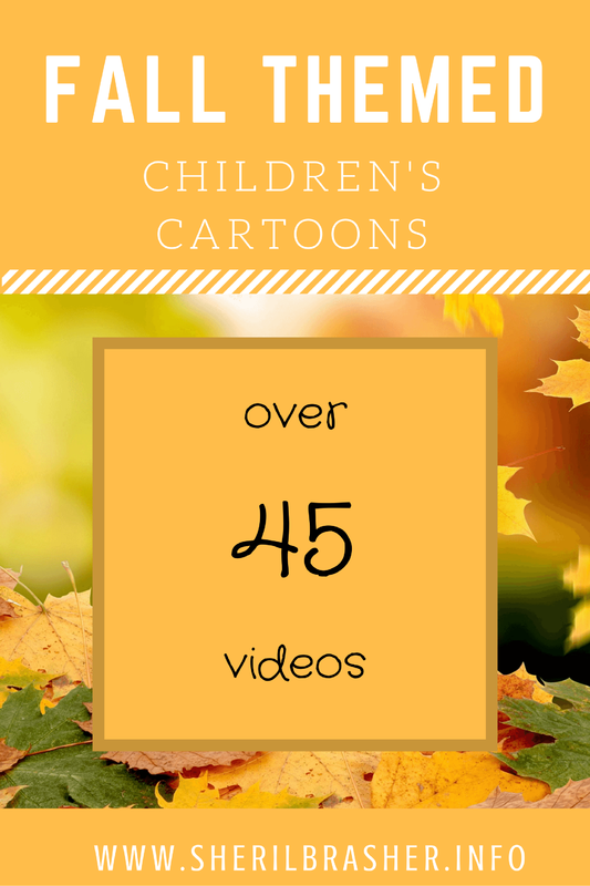 Over 45 Fall Themed Children's Show Episode Guide to use in your classroom or at your home. Head over to sherilbrasher.info/school-resources for this episode guide and more school resources.